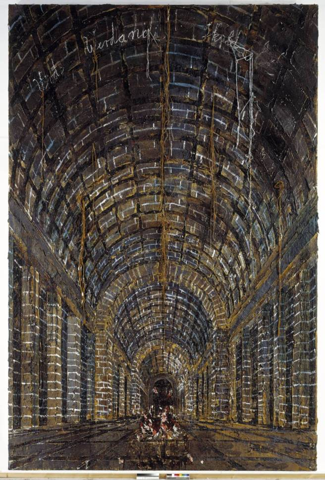 Urd Werdande Skuld (The Norns) 1983 by Anselm Kiefer born 1945