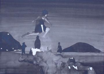 La Noche de San Juan/ Ink 45x60cm
