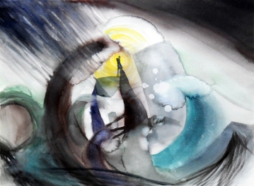 The Storm/ Watercolour 60x78cm