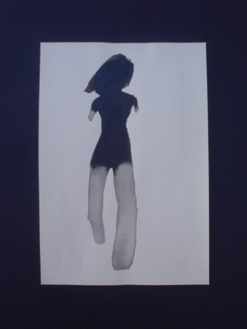 Girl 3/ Ink 45x30cm